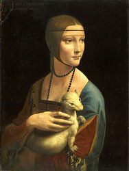 Lady with an Ermine 1490